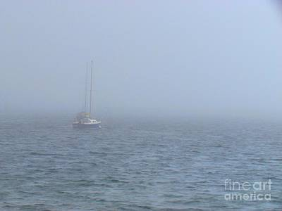 Provincetown Photograph - Foggy Day by Rrrose Pix