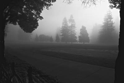 Photograph - Foggy Fairway by Lennie Green