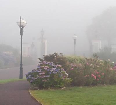 Foggy Morn Art Print