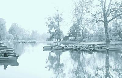Photograph - Foggy Morning Bois De Vincennes by Louise Fahy