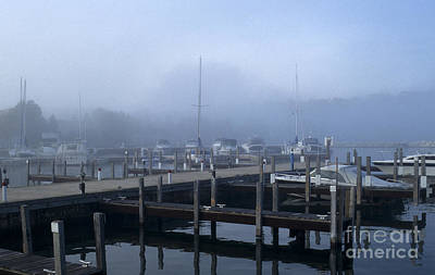 Photograph - Foggy Morning In Door County by Sandra Bronstein