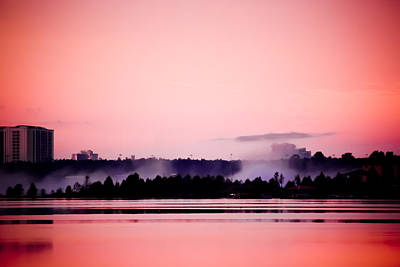 Photograph - Foggy Pink Morning by Trish Tritz