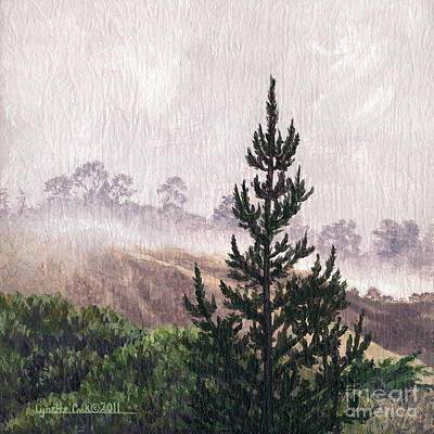 Painting - Foggy Stillness by Lynette Cook