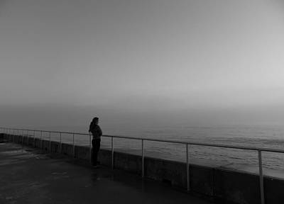 Photograph - Foggy Thoughts by David Mcchesney