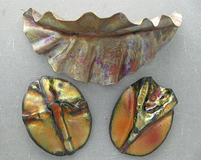 Jewelry - Fold-forming by Dianne Brooks