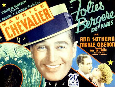 Folies Bergere De Paris, Aka Folies Print by Everett