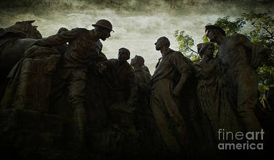 Photograph - Follow Me - Gutzon Borglum's Wars Of America by Lee Dos Santos