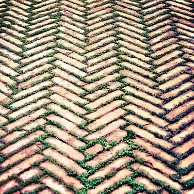 Pattern Photograph - Follow The Path.. #path #way #wisdom by A Rey