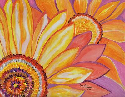 Follow The Sun Art Print by Connie Valasco