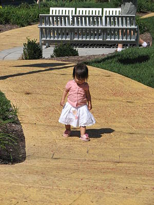 Photograph - Follow The Yellow Brick Road by Keith Stokes