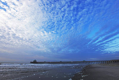 Photograph - Folly Beach Before The Storm by Sheila Kay McIntyre