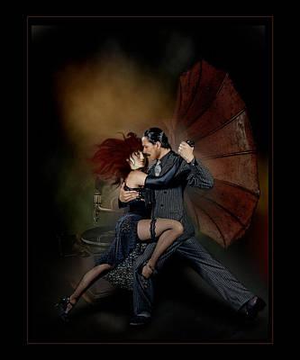 Bandoneon Wall Art - Photograph - Fonola Tango by Raul Villalba