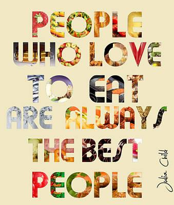 Food Art Print by Bianca Nerlich