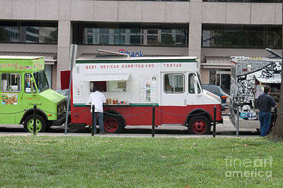 Food Truck Washington Dc Art Print