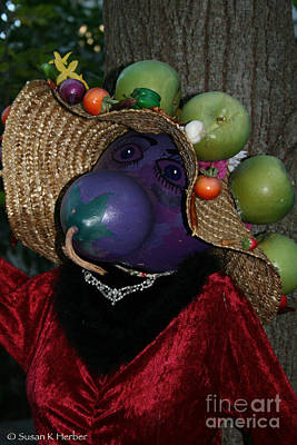 Photograph - Foodie Scarecrow by Susan Herber