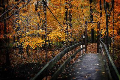 Photograph - Foot Bridge by Scott Hovind