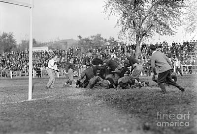 Photograph - Football Game, 1912 by Granger