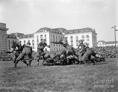 Photograph - Football Game, C1915 by Granger