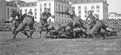 Football Play 1920 Art Print