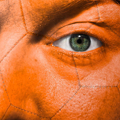Photograph - Football Scars by Semmick Photo