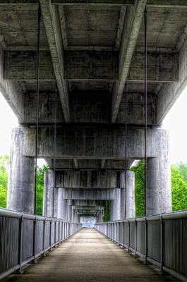 Photograph - Footbridge Over The James River by Steve Hurt