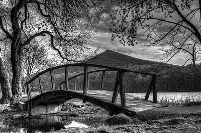 Photograph - Footbridge Peaks Of Otter - Virginia by Steve Hurt