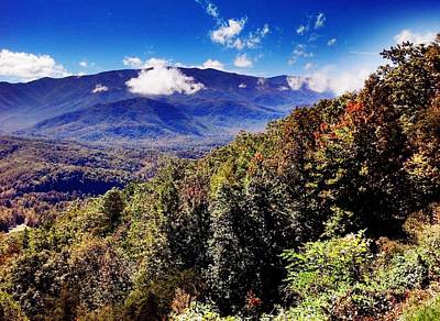 Art Print featuring the photograph Foothills Parkway Tennessee by Janice Spivey