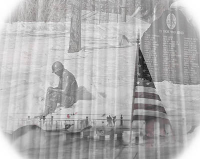 Photograph - For Those Who Served by Trish Tritz