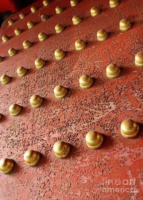 Photograph - Forbidden City Door by Carol Groenen