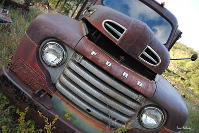 Ford Art Print by Bonae VonHeeder