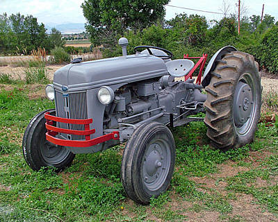 Photograph - Ford Farm Tractor  by Ken Smith