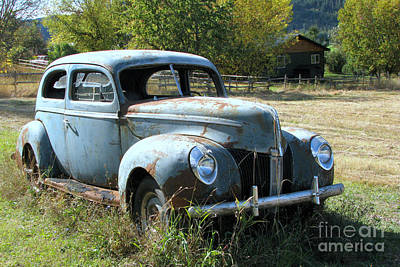 Photograph - Ford For Sale by Frank Townsley