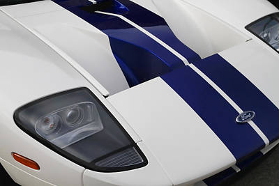 Photograph - Ford Gt by Joel Witmeyer