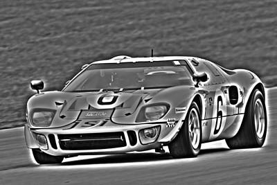 Photograph - Ford Gt40  by Alan Raasch