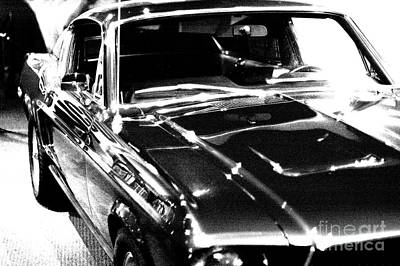 Hood Trim Photograph - Ford Mustang by Micah May