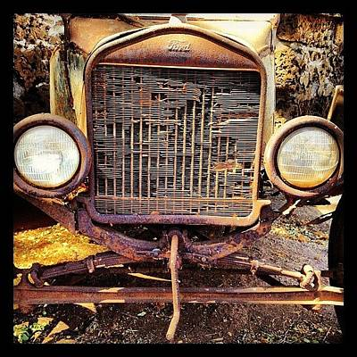 Truck Photograph - Ford Of Old by Darice Machel McGuire