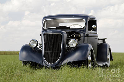Photograph - Ford Pickup by Dennis Hedberg