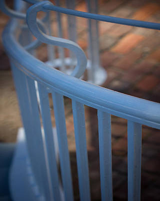 Spring Photograph - Ford Plantation Hand Rail by Mary Sparrow