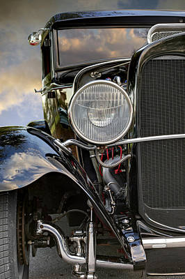 Photograph - Ford T 1930 Front View. Miami by Juan Carlos Ferro Duque