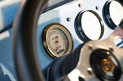 Photograph - Ford Truck Dashboard by Glenn Gordon