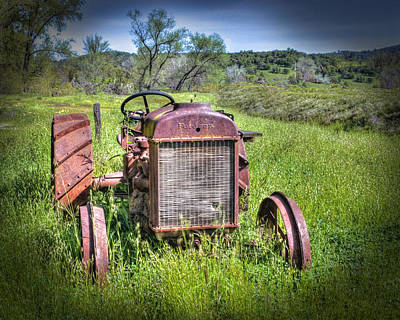 Photograph - Fordson 1920 Tractor by William Havle