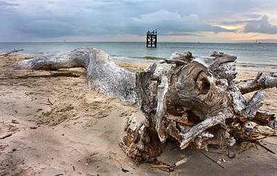 Driftwood Photograph - Drifting Memories by Betsy Knapp