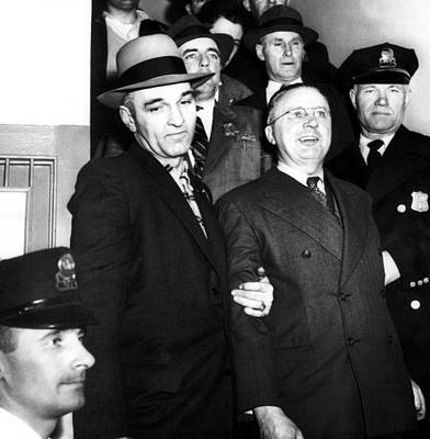 Accused Photograph - Foreground, Center George Metesky, Aka by Everett