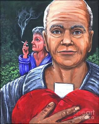 Painting - Foreplay To A Heart Attack by Gail Finn