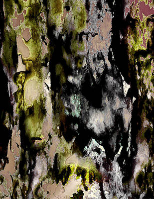 Collective Unconscious Digital Art - Forest Crones Detail by Richard Fisher