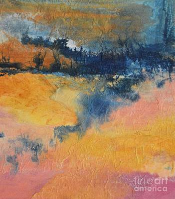 Forest Edge Art Print by Barbara Tibbets