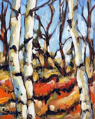 Forest Edge By Prankearts Art Print by Richard T Pranke