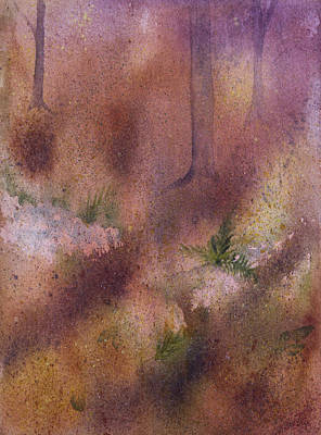 Forest Floor Art Print by Debbie Homewood