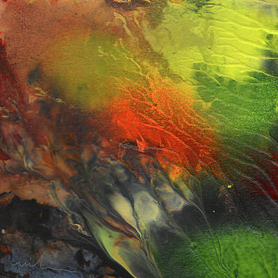 Painting - Forest In Fire by Miki De Goodaboom