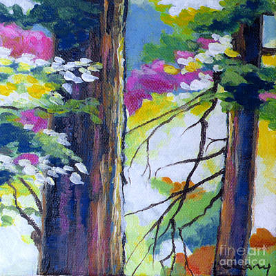 Painting - Forest Light No. 3 by Melody Cleary